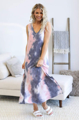 First Love Dresses Freedom Over Spill Maxi Dress
