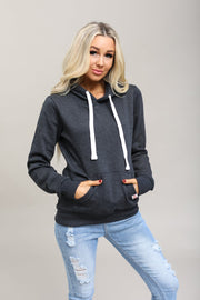 Reflex Coming Soon Charcoal / S / 13-G-03 Haisley Hooded Sweatshirt