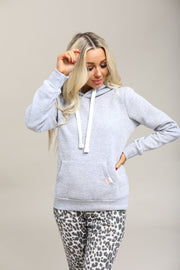 Reflex Coming Soon Light Heather Grey / S / 13-G-03 Haisley Hooded Sweatshirt