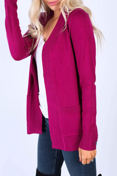 Cielo Tops Magenta / S Must Have Cardigans