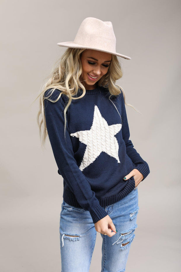 Mak Coming Soon Shooting Star Sweater