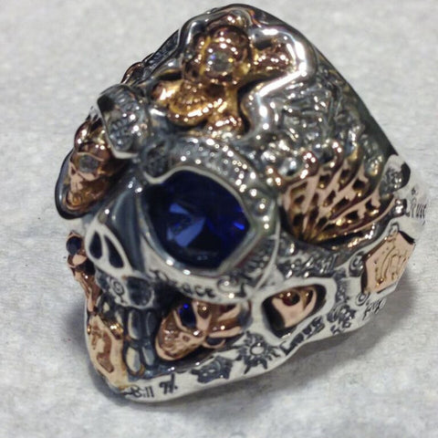 Super Custom Graffiti Ring Completed Rings