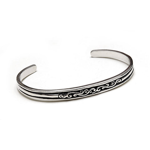Women's Wave Bangle
