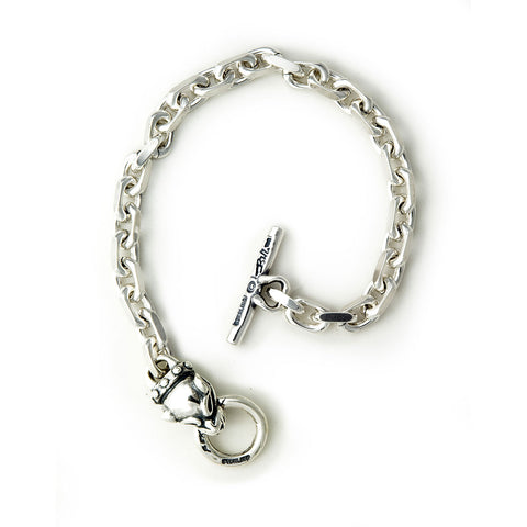 30th Anniversary Square Chain with Vintage Panther Bracelet