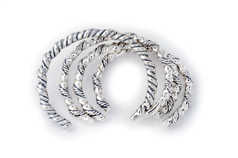 BWL Bracelet - Double Twisted Bangle