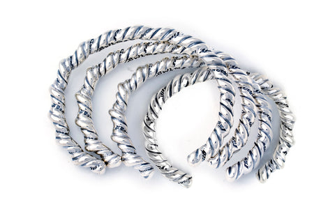 BWL Bracelet - Twisted Wire Bangle