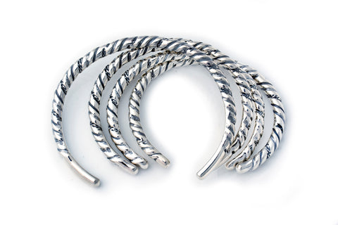 BWL Bracelet  - Twisted Wire Bangle (thin)