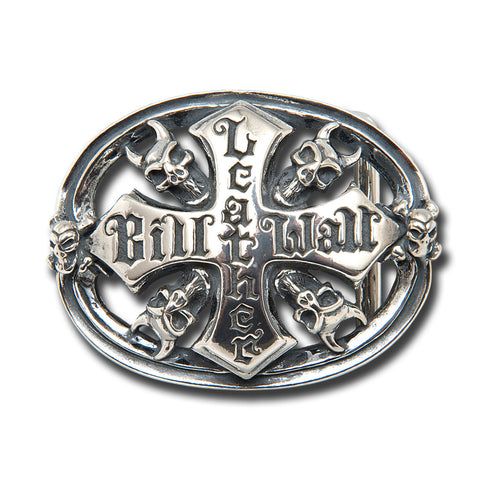 Demon Skull BWL Logo Belt Buckle
