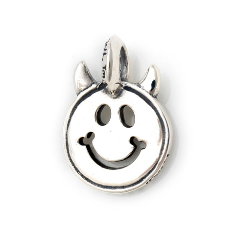 Happy Face with Horns, Charm