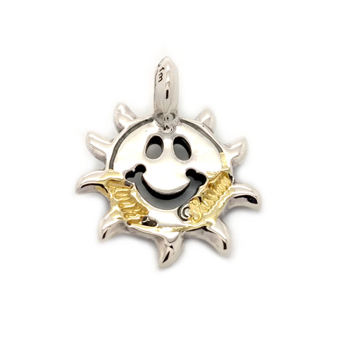 Happy Face Sun Charm Custom