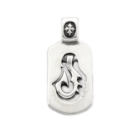 Floating Fish Hook Dog Tag