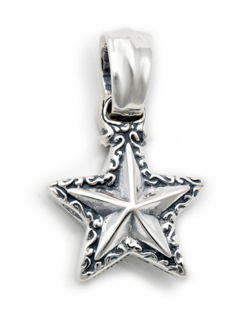 Double Wave/Star Pendant