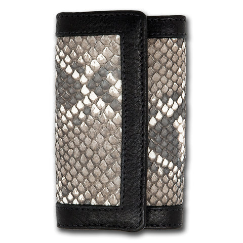 Python Leather Key Wallet