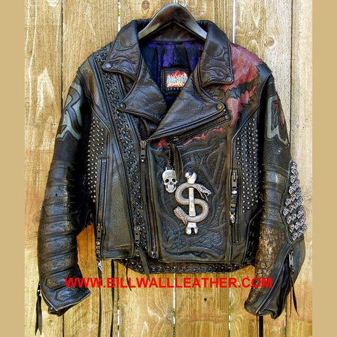 Vintage Motorcycle Jacket