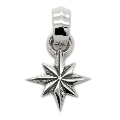 Hide Star Pendant