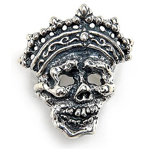 Crown Skull Medium Pendant