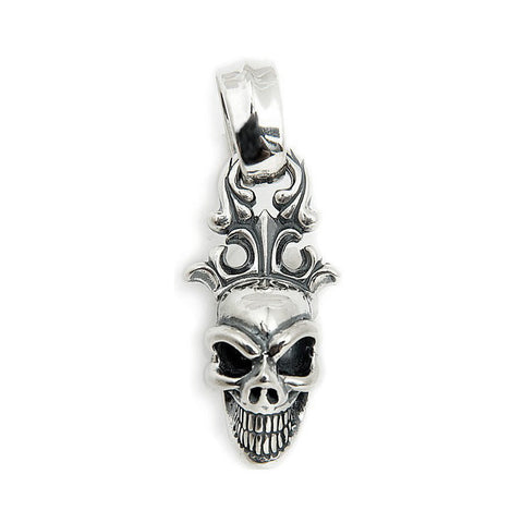 Good Luck Skull Crown Pendant