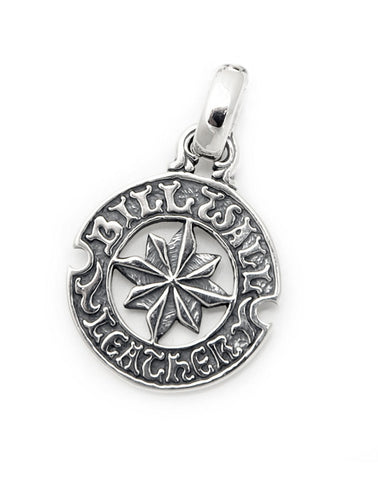 Circle Logo with Nautical Star Pendant
