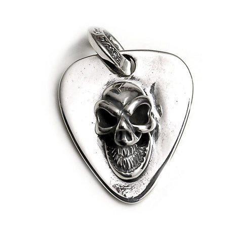 Good Luck Skull Pick Pendant/Tag
