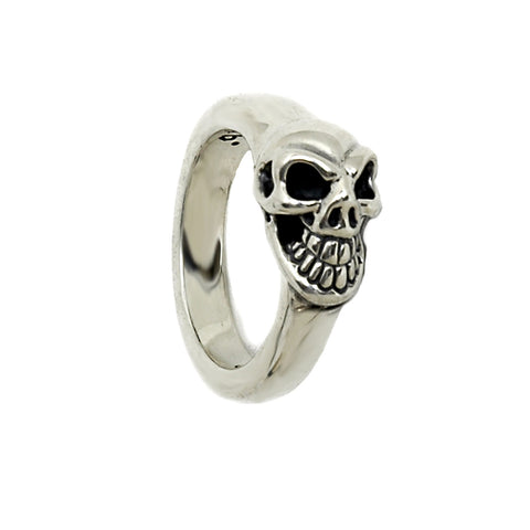 Mini Good Luck Skull Ring