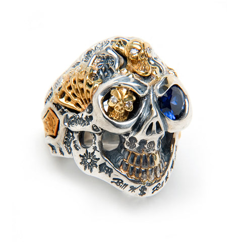 Super Custom Graffiti Ring