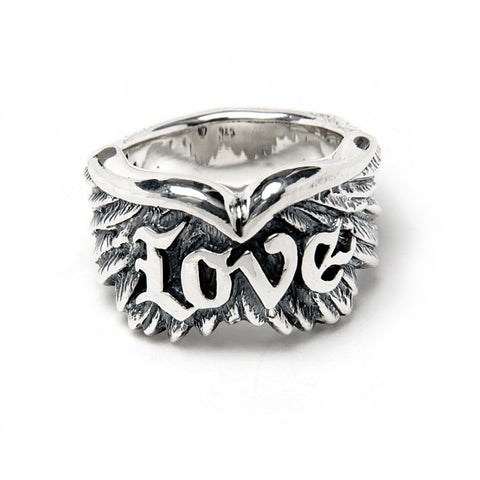 Wing with Love Ring