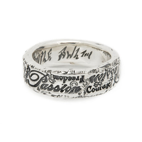 Passion Graffiti Ring