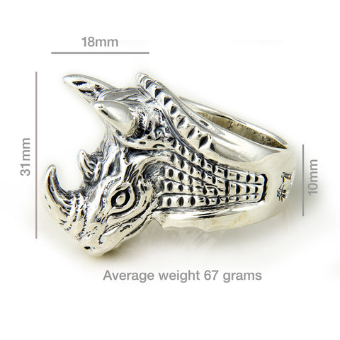 30th Anniversary Bill Wall Rhino Ring