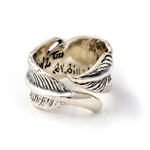 "Feather Ring ""Medium"" From 1998 Collection"