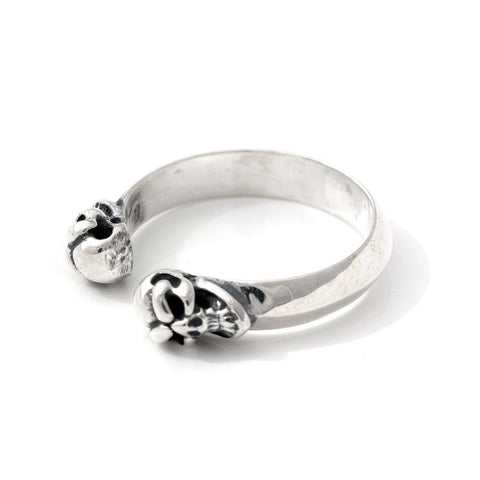 Double Skull Ring - Small