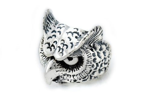 BWL Large Owl Ring