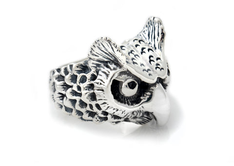 BWL Medium Owl Ring