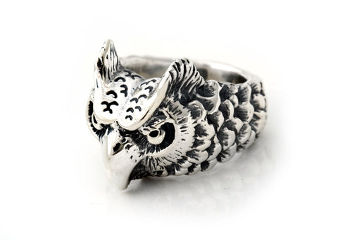 BWL Small Owl Ring