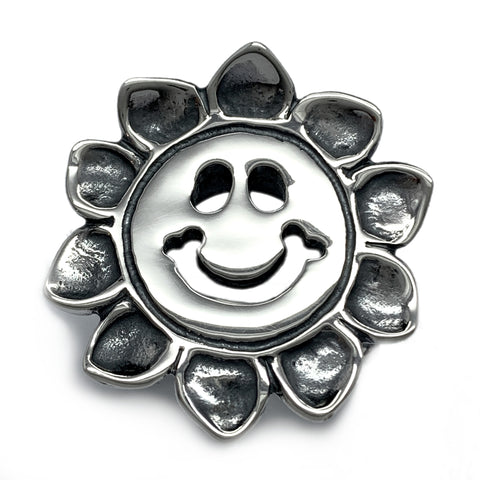 Happy Face Sunflower Ring