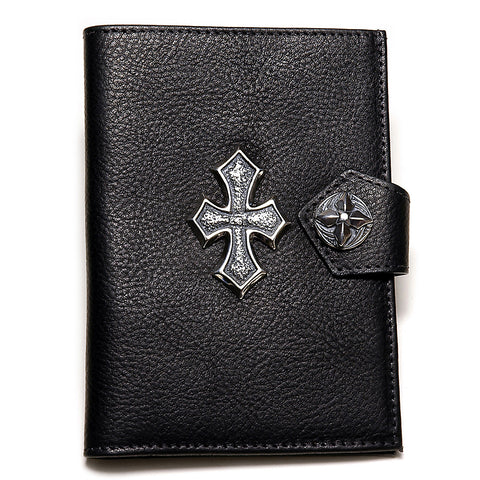 Passport Cover with Silver Cross