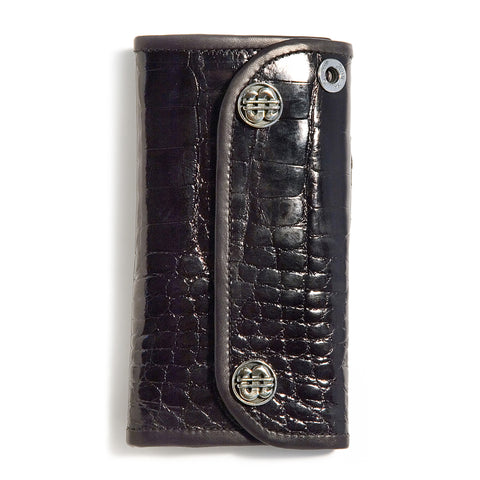 Large Currency Alligator Wallet