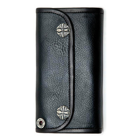 XL Cross with Tribal Emboss Wallet