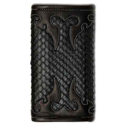 Large Currency Anaconda Tribal Wallet