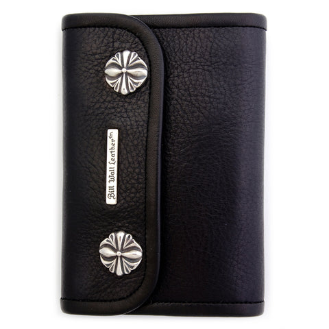 Medium Wallet for Large Currency in Plain Skin