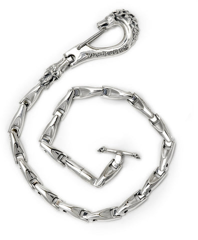 U-Joint-Med. Horse Clip w/Smooth Link Wallet Chain