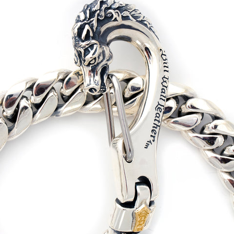 "Wallet Chain Horse Clip XL Smooth I.D. link ""BWL Exclusive Item"""