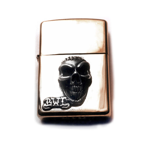 Lighter with Good Luck Skull