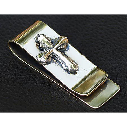 Bronze 2005 Cross Money Clip