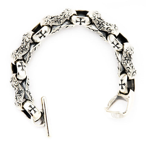 Barbarian link/Rev Cross Bracelet