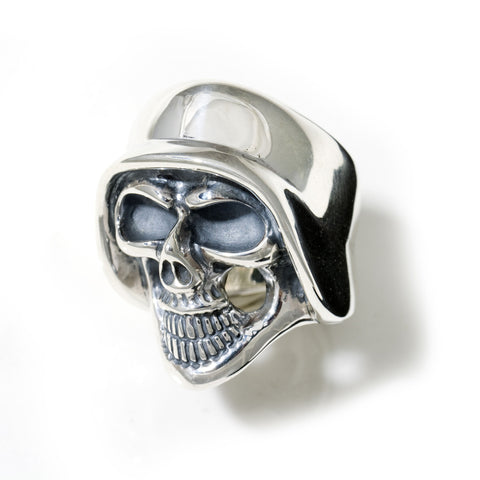 Medium Helmet Skull Ring