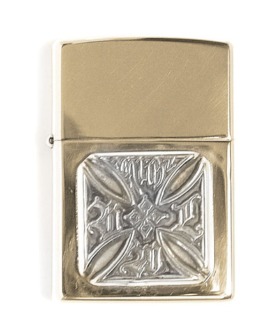 Brass Lighter with 20th Anniversary Cross