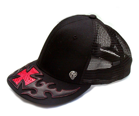 Cap with Tribal Cross