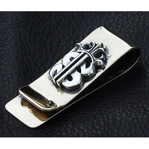 Bronze $ Money Clip