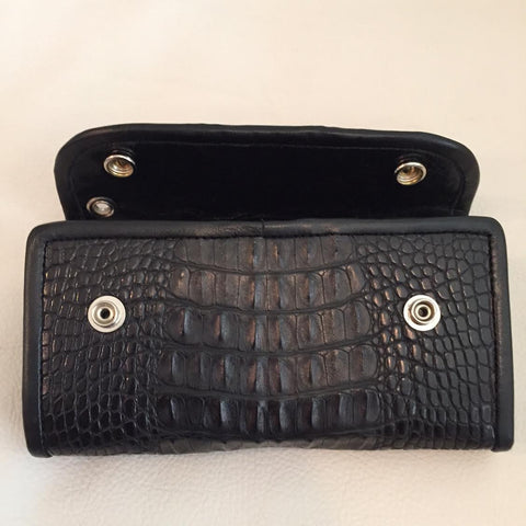 Horn Back Gator Large Currency Wallet