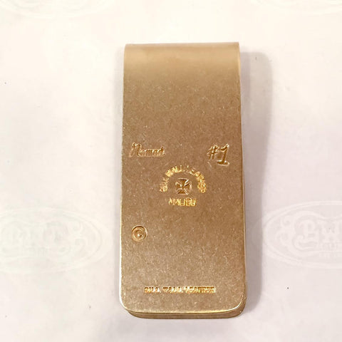 Money Clip Brass Hand Made low Limit